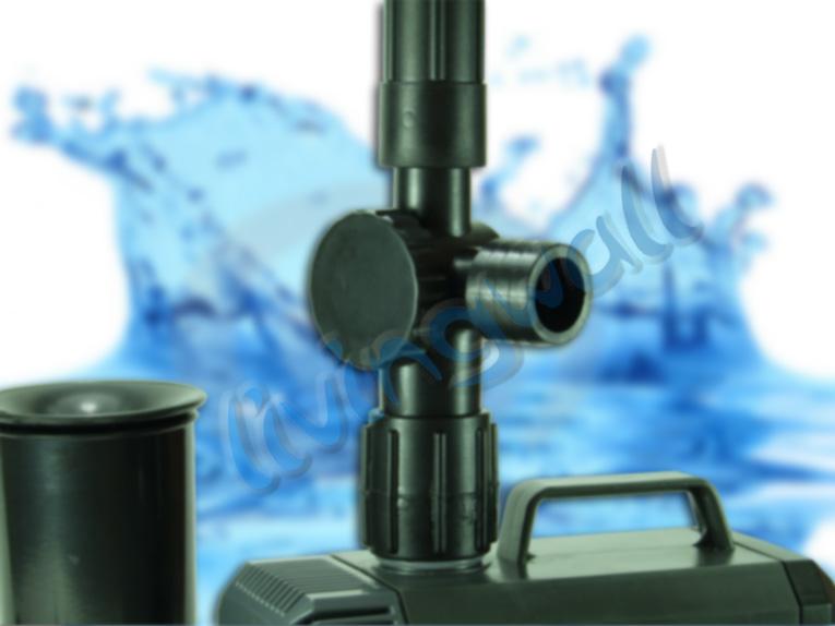 Bomba de agua hqb 3503 para estanque estanques peces - Bombas para estanques de jardin ...