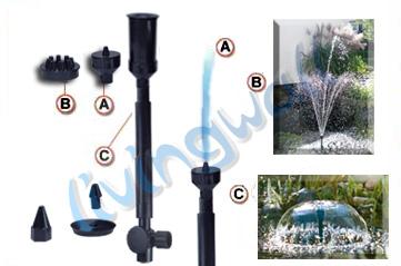 Bomba de agua hqb 3503 para estanque estanques peces for Accesorios para estanques