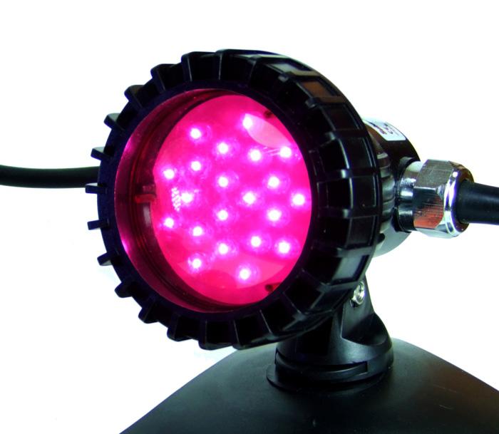 lampara colores led